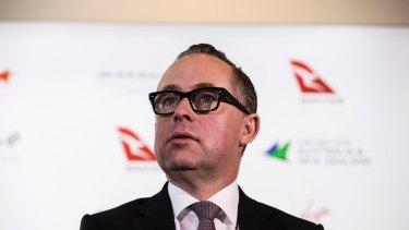 Qantas chief executive Alan Joyce.
