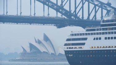 Sydney's east typically has better air quality in the east than inland areas.