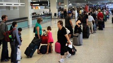 Qantas says only senior staff will take part in the volunteer program.