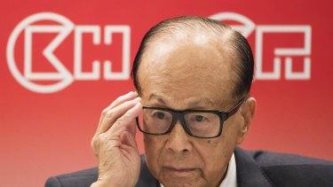 Hong Kong billionaire Li Ka-shing's CK Hutchison group has denied claims it is hiding massive debts.