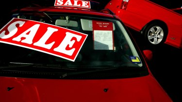 Car sales have fallen to their lowest February level since 2012.