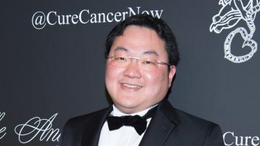 Jho Low, still at large.