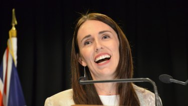 New Zealand's Prime Minister Jacinda Ardern, who attracted global attention for her wellbeing budget.