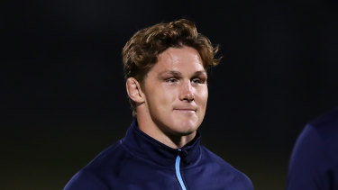 'No regrets': Michael Hooper has defended his stance on Israel Folau last year.