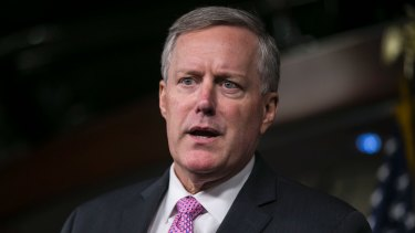 White House chief-of-staff Mark Meadows said Democrats were playing politics by refusing to compromise.