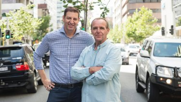 Basil Zempilas and Steve Mills host 6PR's Breakfast show.