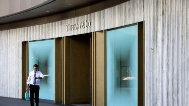 It represents a 7.5 per cent premium over Tiffany's closing share price on Friday and is more than 50 per cent higher than where the price stood before LVMH launched its effort to woo the company.