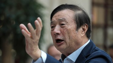 Ren Zhengfei, founder and chief executive of Huawei.