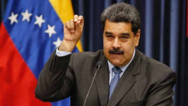 Nicolas Maduro has dismissed calls for fresh elections as a plot orchestrated by the US.