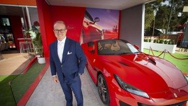 Former Ferrari Australia CEO Herbert Appleroth.