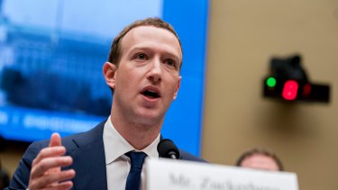 Not just women ... Facebook founder Mark Zuckerberg has taken to wearing a suit when fronting government hearings.