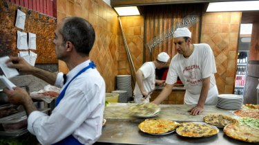 Yes, the pizza's better in its homeland. But how much of it can you eat?