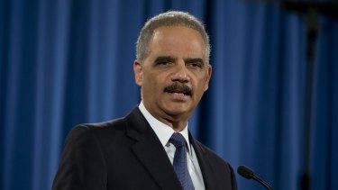 Former Attorney General Eric Holder pledged to sue.
