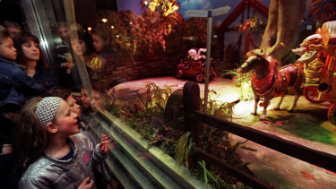 The Myer Christmas windows have brought joy to children - and their parents - for decades.
