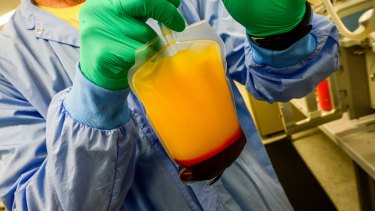 Plasma - the yellow liquid that carries our blood cells - has become a commodity in hot demand.