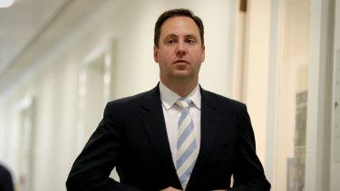 Defence Industry Minister Steve Ciobo voted for Peter Dutton in the August leadership spill.