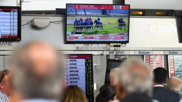 Local market undermined: More than $1.3 billion of gambling activity is going offshore from Australia every year, according to Racing Wagering Australia.