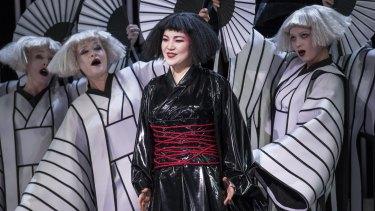 Karah Son as Madama Butterfly in Opera Australia's latest production.