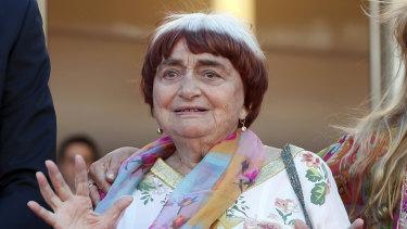 Filmmaker Agnes Varda.