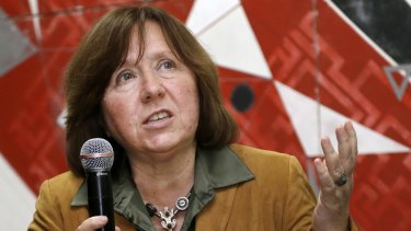 Nobel Prize winner and author Svetlana Alexievich has called for the Belarus President to step aside.