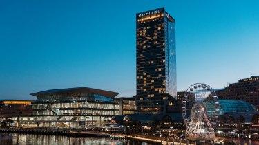 The new International Convention Centre Sydney.