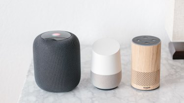 Smart speakers, such as the Apple HomePod, Google Home and Amazon's Alexa are boosting smart home uptake.