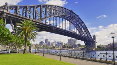 Sydney Harbour Bridge - an Australian engineering feat.