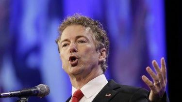 Republican Senator Rand Paul.