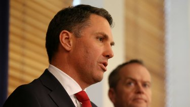 Richard Marles appears to be the only nominee for deputy leader of the Labor Party.