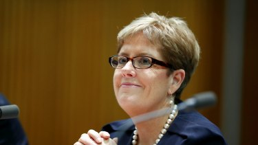 AMP's new CEO Alexis George was well-liked by staff at ANZ where she worked for seven years.