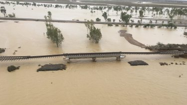 The devastating flood in north-west Queensland in early 2019 shut the rail line between Townsville and the Phosphate Hill plant for three months.