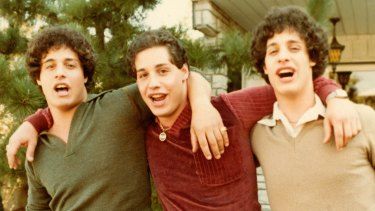 Three Identical Strangers tells the tall-but-true story of triplets who met by accident.