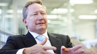 With a 35 per cent stake in the company,  Andrew Forrest, the company's founder and chairman, is set to pocket $1.24 billion from the full-year dividends.