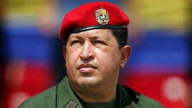 The late Venezuelan President Hugo Chavez in 2005.