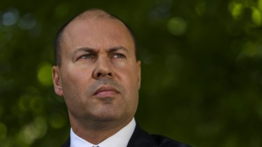 Treasurer Josh Frydenberg.