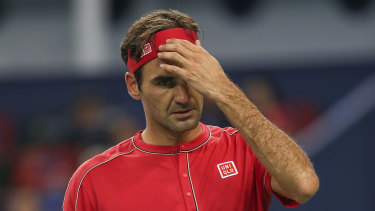 Roger Federer and Novak Djokovic both lost on a stunning day in China.