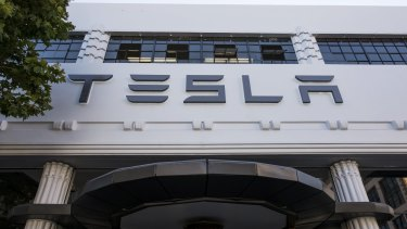 Tesla shares have slumped 30 per cent in 2019.