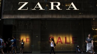 Macquarie expects Zara's store numbers to rise from 15 to 20 over the next few years.