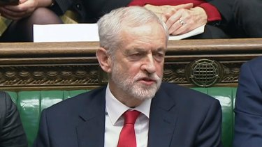 Opposition Leader Jeremy Corbyn called on Theresa May to admit that her Brexit strategy had failed.