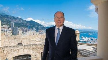 Prince Albert of Monaco.