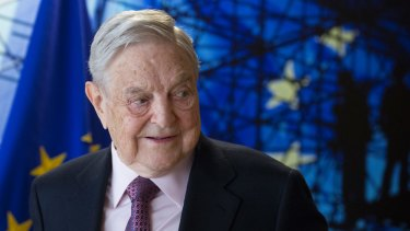 Billionaire George Soros.