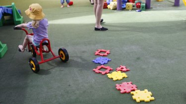 G8 Education is continuing to struggle with a glut of childcare centres.