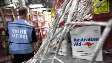 Australia's aid budget has now been cut for six years in a row