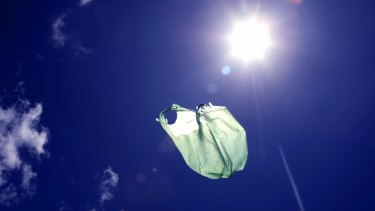 Four Victorian councils are reviewing a service that allows residents to put plastic bags in recycling bins.