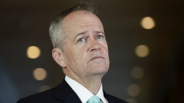 Labor leader Bill Shorten signalled early on that the party was preparing to compromise.