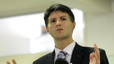 NSW Minister for Finance, Services and Property Victor Dominello.