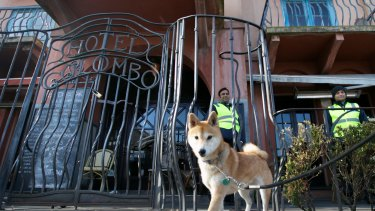 St Kilda's Dog's Bar after its former owner was locked out in 2014.