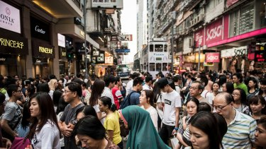 The Causeway Bay shopping district in Hong Kong is the most expensive in the world to rent a space.