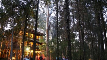 Gunya Restaurant at Paperbark Camp, Woollamia.