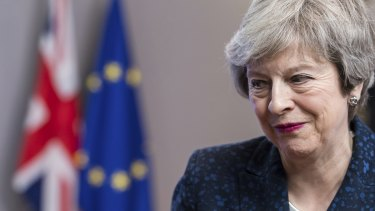 Theresa May is struggling to pass her Brexit deal through the British Parliament.